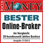 Cortal Consors Bester Online-Broker bei Focus Money