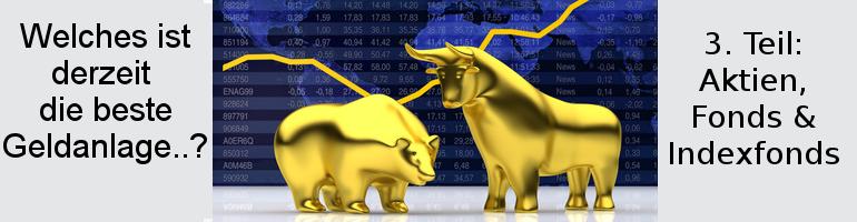 Geldanlage Aktien