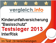kinderunfallversicherung test 2013 tarife. Black Bedroom Furniture Sets. Home Design Ideas