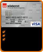 Wüstenrot Prepaid Kreditkarte Tipp