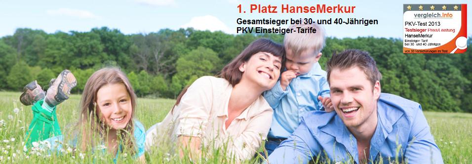 PKV Testsieger HanseMerkur
