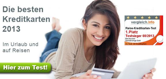 Kreditkarten-Test 2013